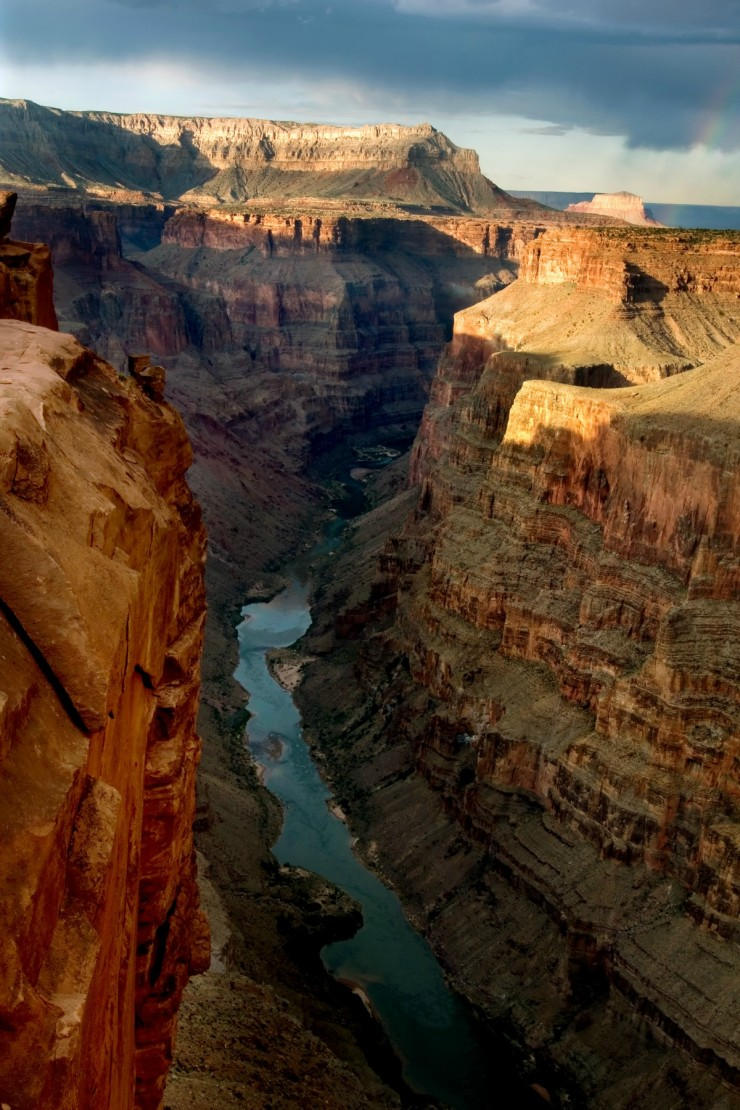 Toroweap Point in Grand Canyon National Park, Arizona