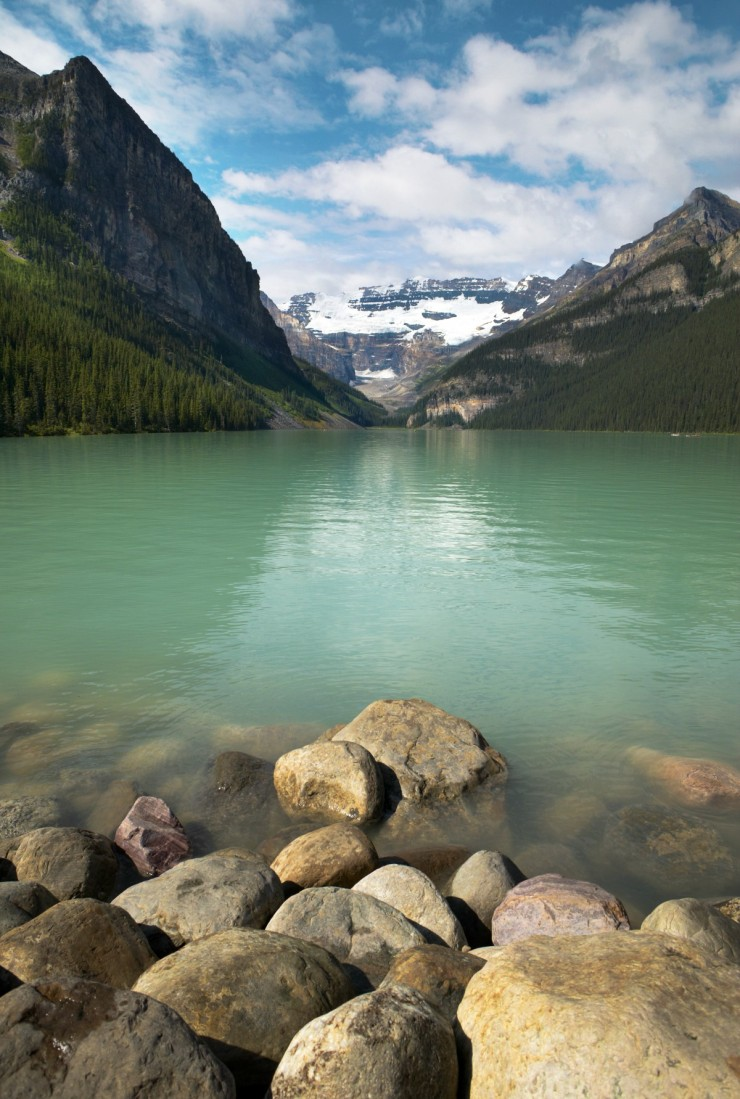 Lake Louise in Banff National Park, Alberta (Canada)