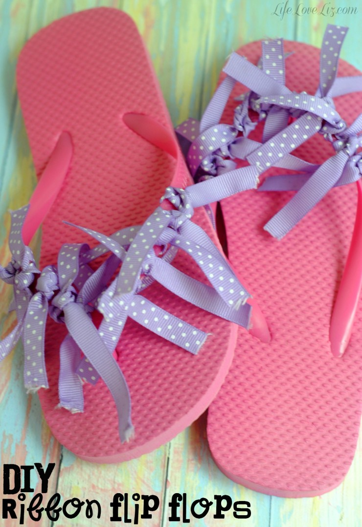 7 fun summer activities for kids gloriousmesses frugal for Flip flops for crafts