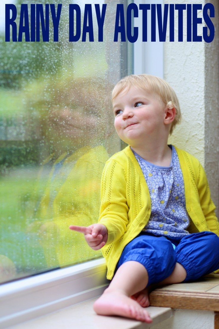 Stay head-ache free (for the most part anyway) with these Rainy Day Activities for Kids!