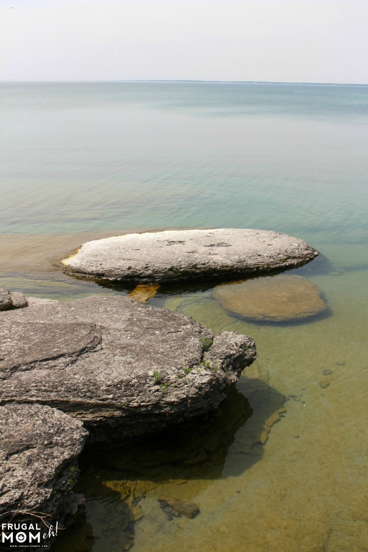 The shore just off of Sandbanks Beach-  7 Must-See Attractions in Prince Edward County, Ontario - One of Canada's Top Tourist Destinations!