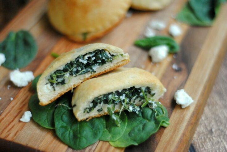 Spinach & Feta Hand Pies