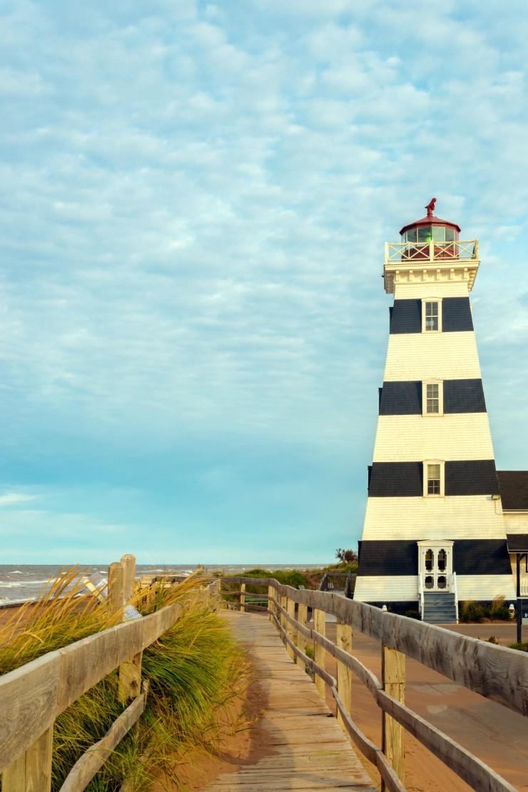West Point Lighthouse (North Cape Coastal Drive, Prince Edward Island, Canada)