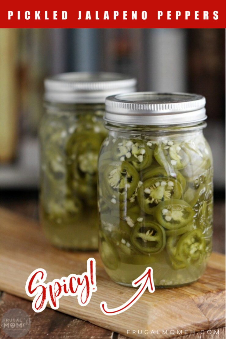 Make Perfect Pickled Jalapeño Peppers with this easy canning recipe. These are super hot and spicy with a bit of zip!