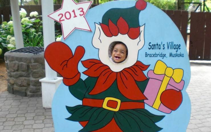 Win a Family's Pass to Santa's Village #Giveaway