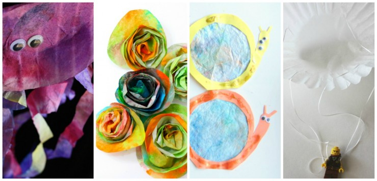 27 Coffee Filter Crafts for Kids