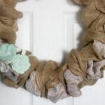Burlap & Lace Wreath