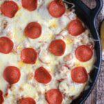 Skillet Pizza Pasta Casserole