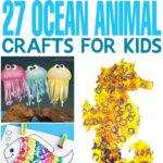 27 Ocean Animal Crafts for Kids