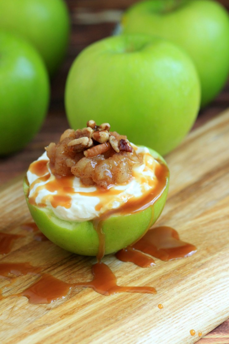 This Cheesecake Stuffed Apples Recipe is a decadent dessert full of bursts of fresh flavour!