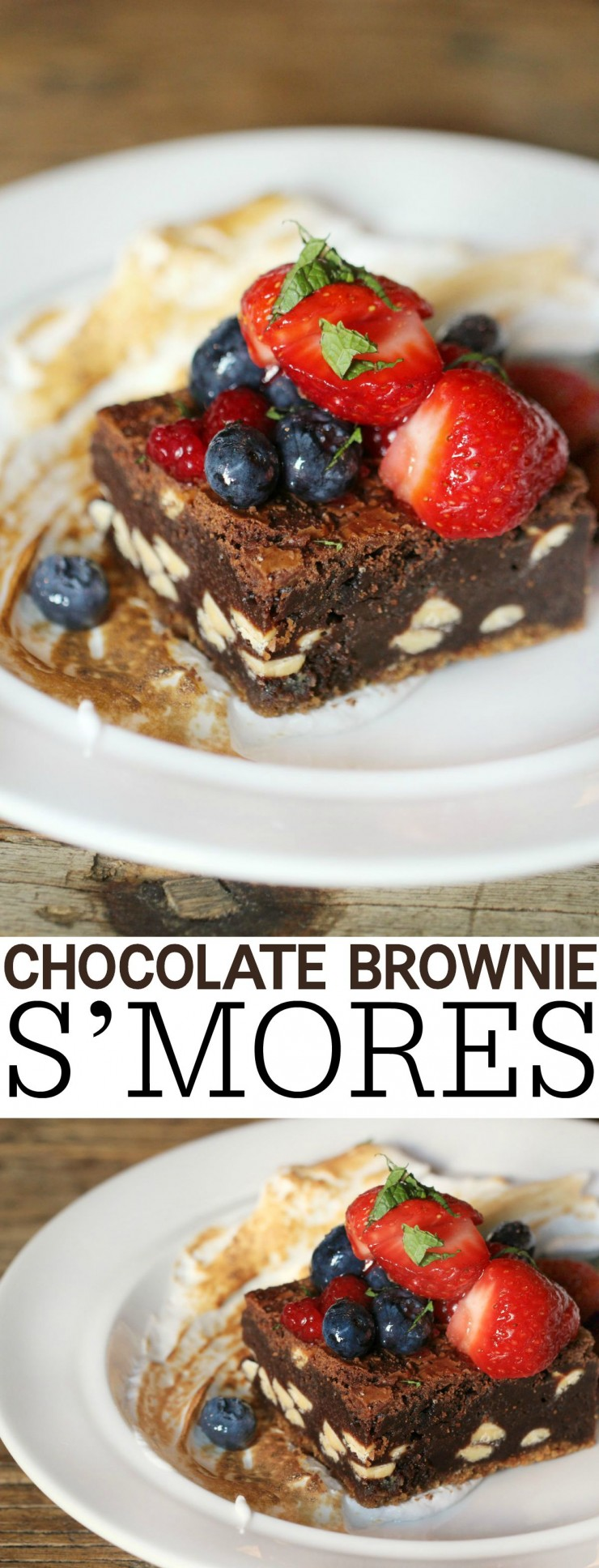 Chocolate Brownie S'mores