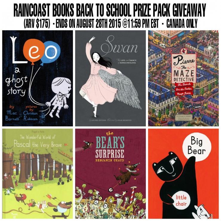 Raincoast Books Prize Pack