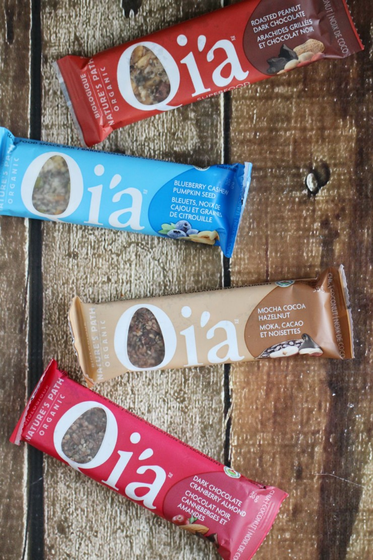 Nature's Path Qi'a Superfood Snack Bars #OnMyPath #Qia #Giveaway