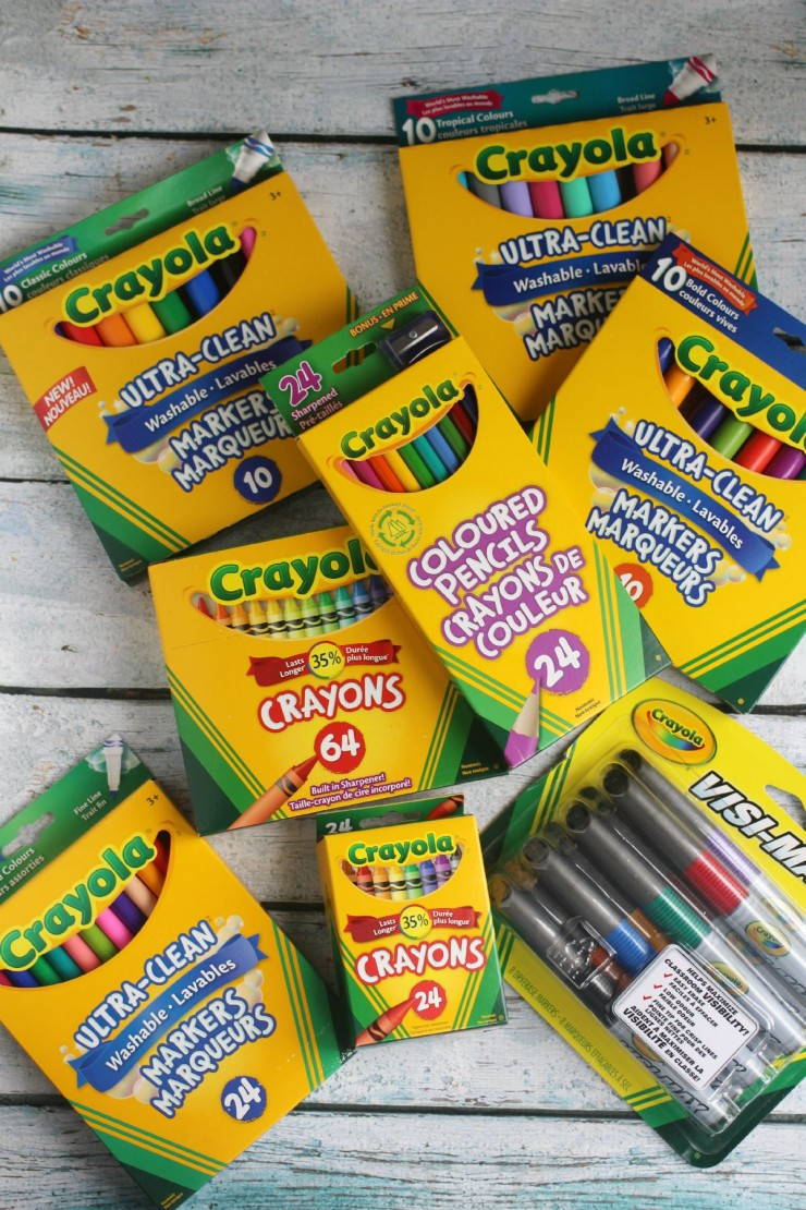 Back to School Tips and Trick with Crayola
