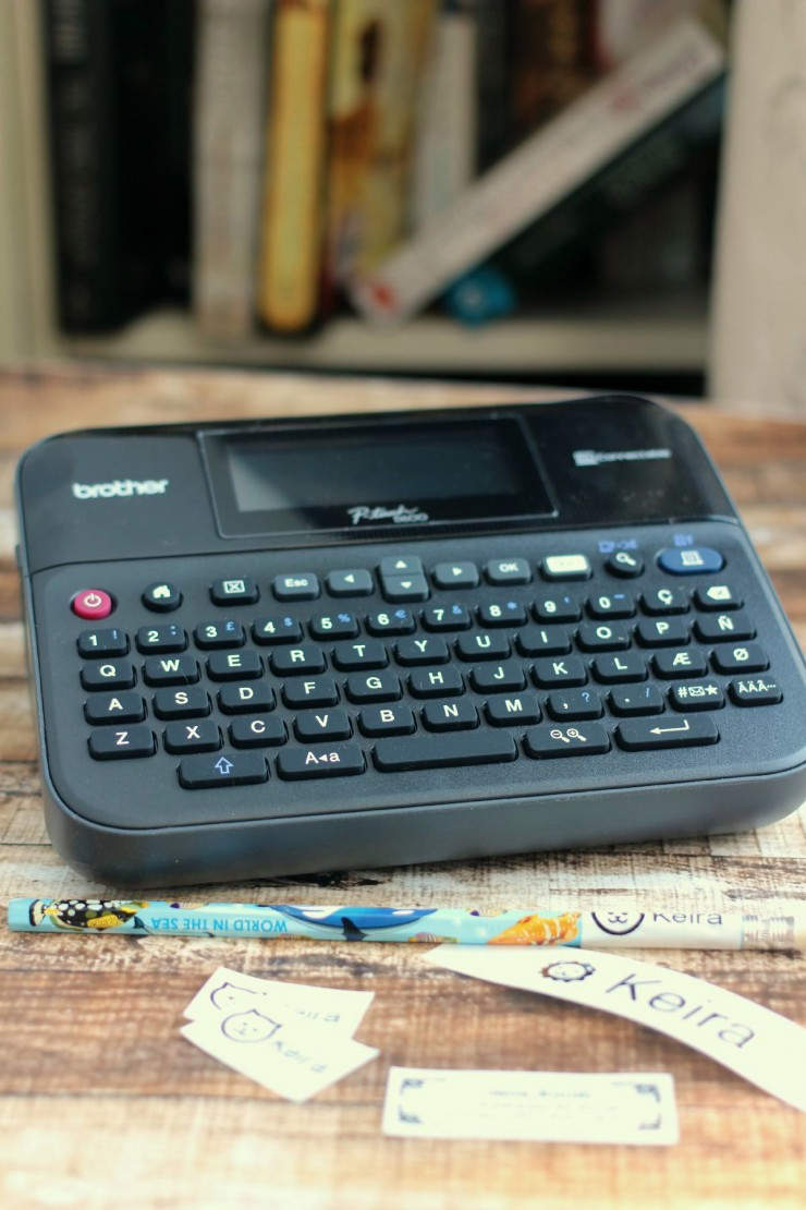 Get Back-To-School Ready with the Brother P-Touch D600 Electronic Label Maker