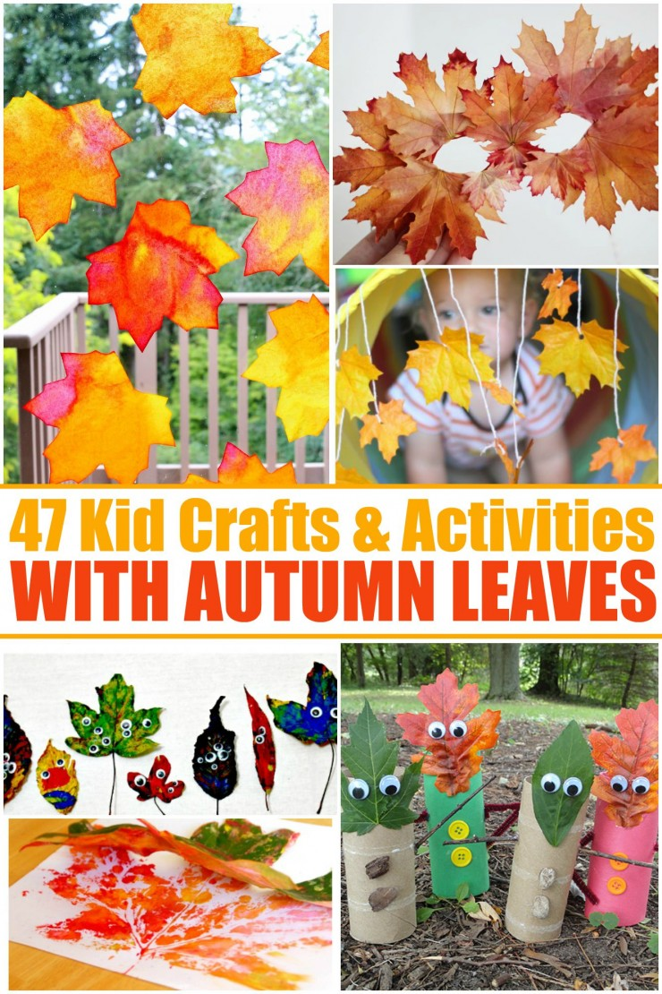 47 Kids Crafts Activities With Autumn Leaves Frugal Mom Eh