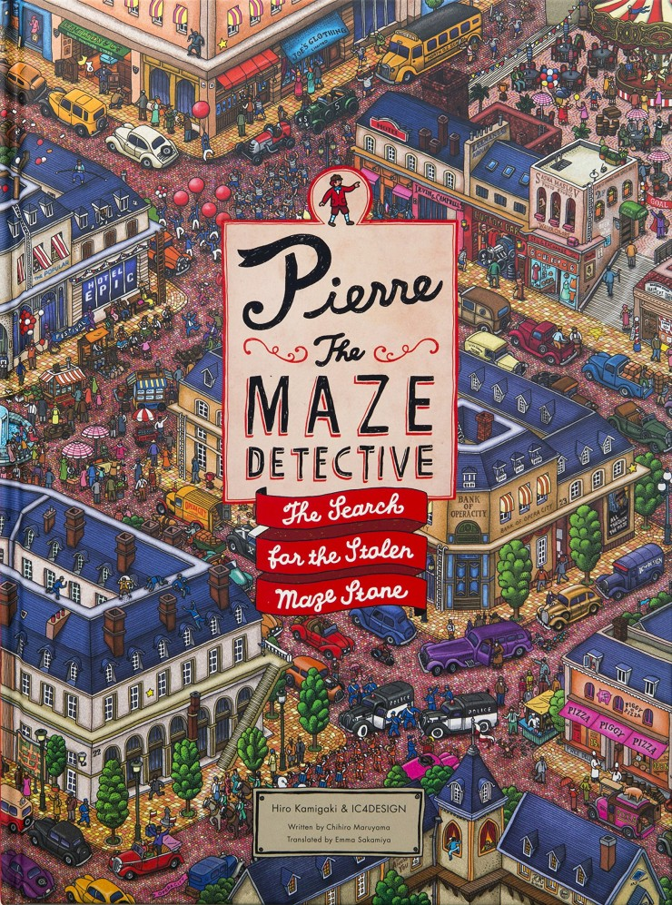 Pierre the Maze Detective: The Search for the Stolen Maze Stone by Hiro Kamigaki and IC4DESIGN