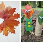 47 Kids Crafts & Activities with Autumn Leaves