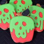 Evil Queen Poison Apple Cookies