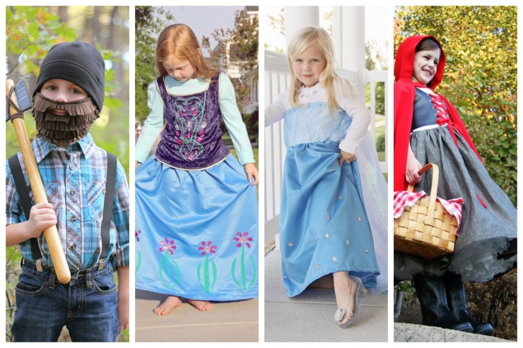 These 27 DIY Halloween Costumes for Kids are easy, fun and creative to put together so you never have to buy a kids Halloween Costume again!