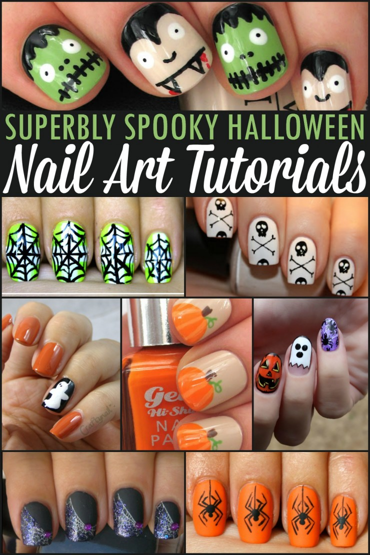 Superbly spooky halloween nail art tutorials frugal mom eh superbly spooky halloween nail art tutorials prinsesfo Gallery