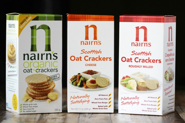 Cracker Pizzas: An Easy After School Snack made with Nairn's Oat Crackers