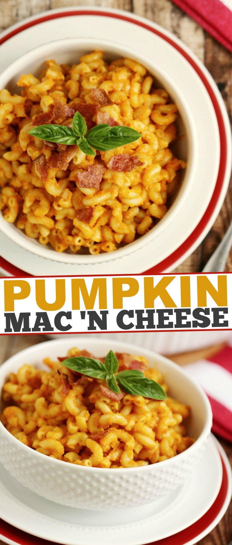 This Pumpkin Mac 'n Cheese is an autumn recipe that is sure to be your new favourite comfort food.