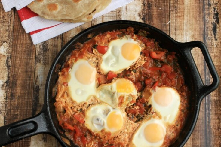 Shakshouka (Spiced North African Eggs)
