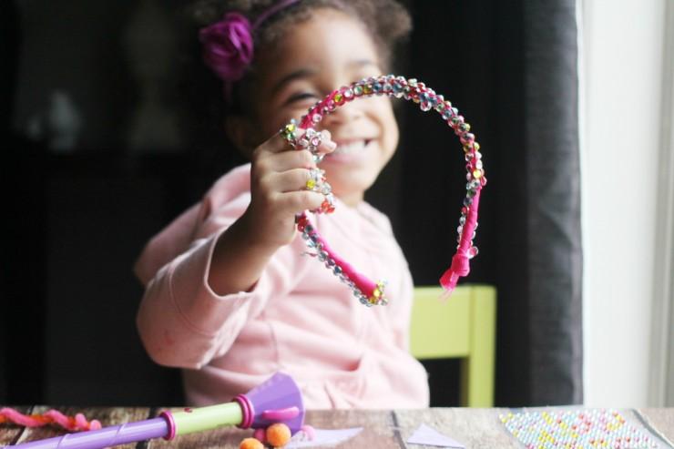 Little Charmers Hazel Kitty Headband Kids Craft