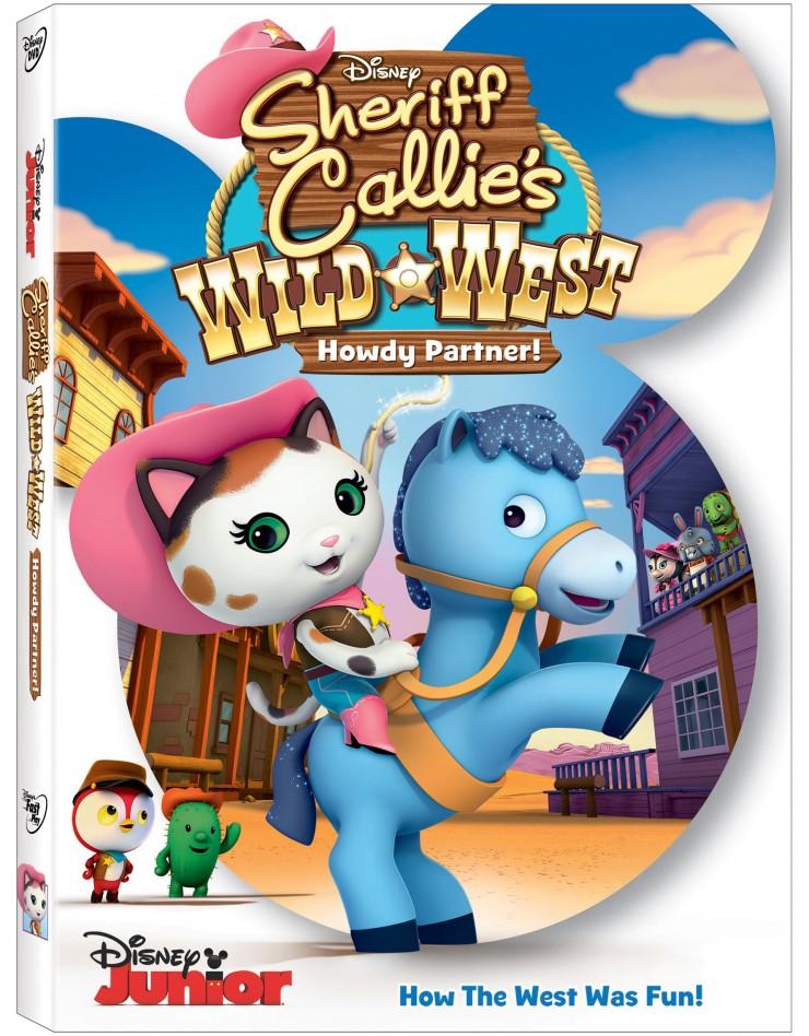 Sheriff Callie's Wild West: Howdy Partner DVD