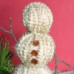 Yarn Wrapped Snowmen