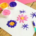 3-Ingredient Homemade Puffy Paint