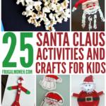 Santa Claus Crafts & Activities for Kids