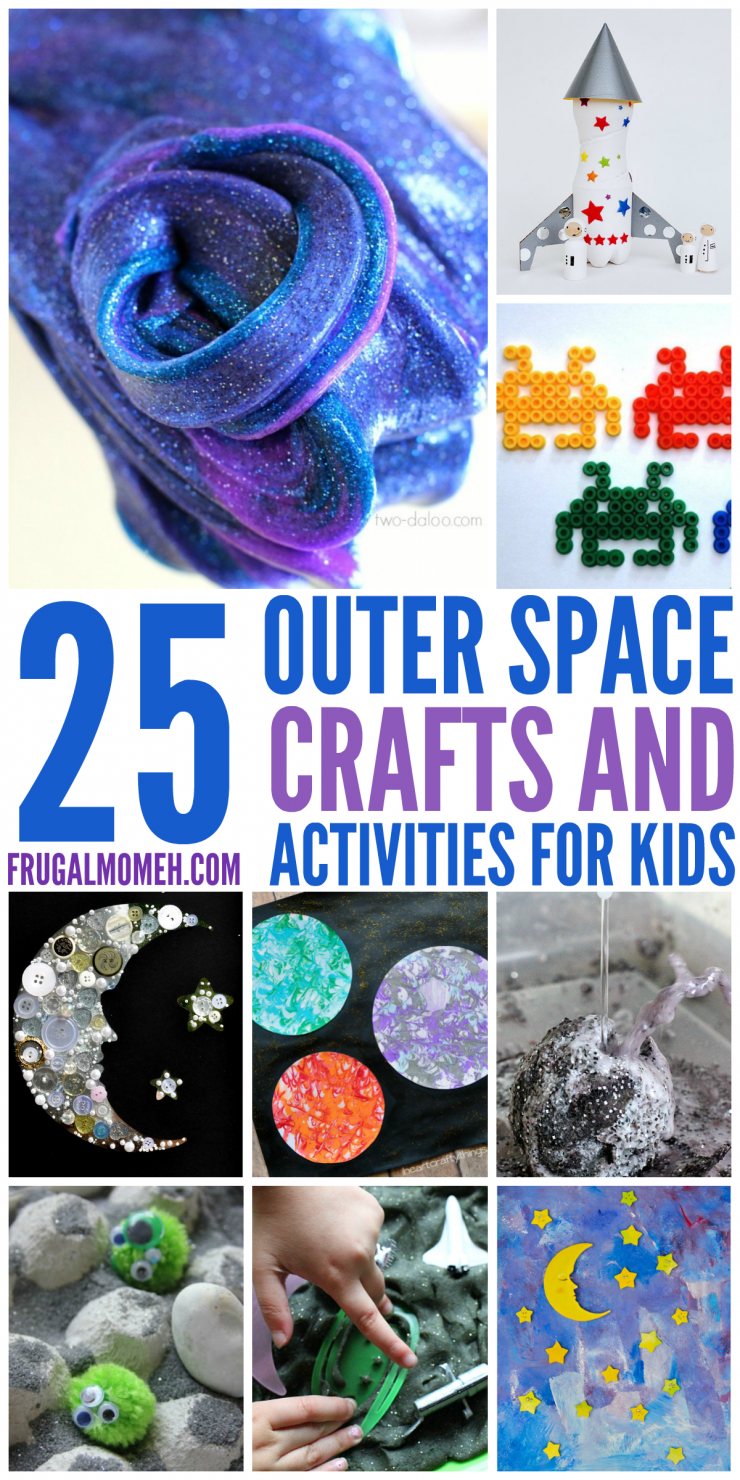 Space Crafts & Activities for Kids to help them explore all the wonder of outer space!