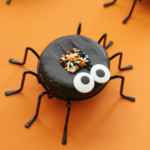 Spooky Halloween Spider Donuts
