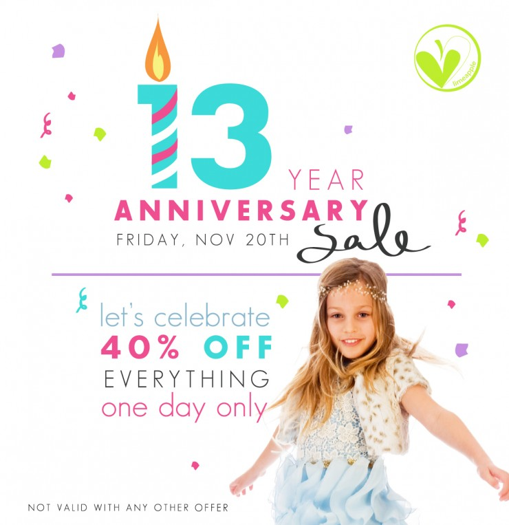 Holiday Style from Limeapple + 13th Anniversary Sale!