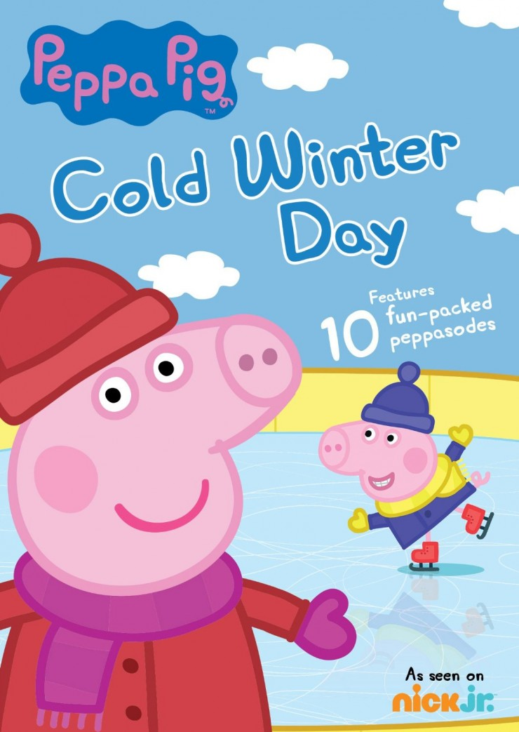 Peppa Pig: Cold Winter Day DVD