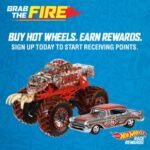 Grab The Fire with Hot Wheels Race Rewards