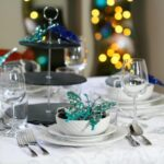 Arctic Teal Christmas Decoration Ideas