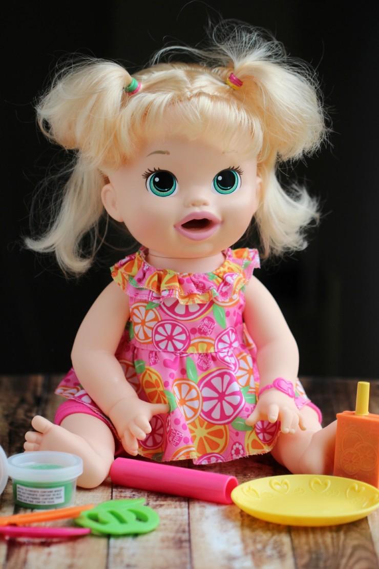 Baby Alive Super Snacks Snackin  Sara Doll  FMEGifts2015 - Frugal ... d7332a12c2