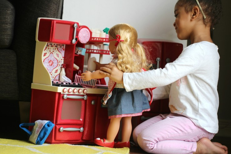 Our Generation Gourmet Kitchen Set & Deluxe Jenny Doll #FMEGifts2015