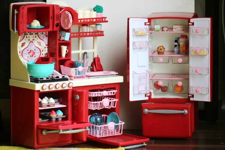 Our Generation Kitchen Set | Our Generation Gourmet Kitchen Set Deluxe Jenny Doll