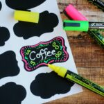 CraftyCroc Liquid Chalk Markers & Adhesive Chalkboard Labels #FMEGifts2015