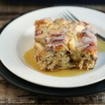 Apple Cinnamon Roll French Toast Bake