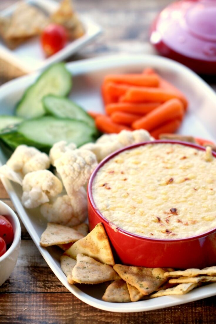 Hot Cheese Dip with Emmental