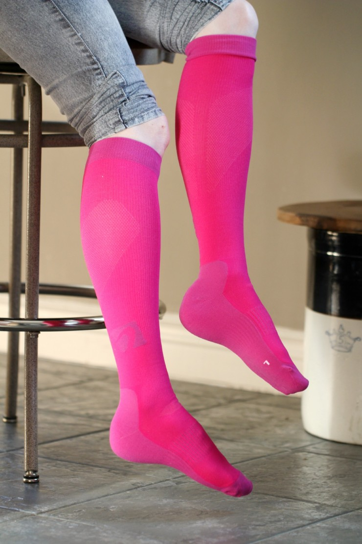 Acel Performance and Recovery Graduated Compression Socks