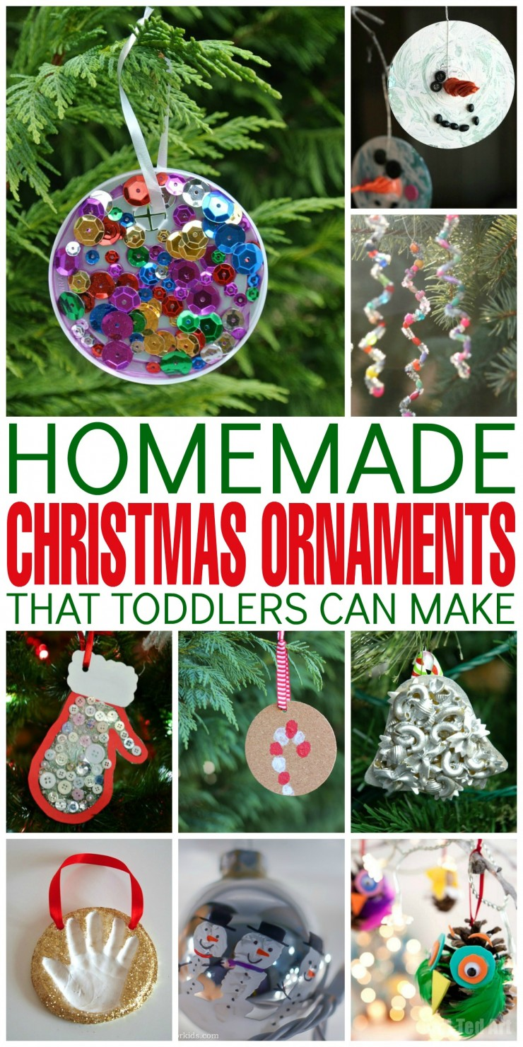 Homemade Christmas Ornaments For Toddlers : Homemade christmas ornaments that toddlers can make