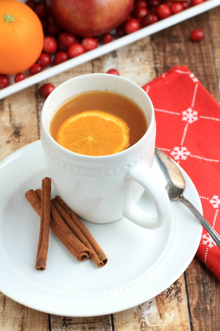 Wassail is traditionally drunk on Christmas Eve and is a special type of hot mulled cider that typically contained eggs. This slow cooker Wassail is super easy and kid friendly too as no brandy or sherry is added.