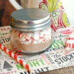 Peppermint Cocoa Mini Gift Jars
