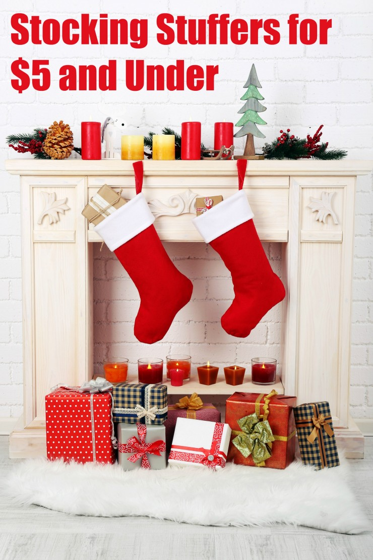 Here is a list of stocking stuffers for $5 and under, split into categories - Stocking Stuffers for $5 and Under - Kid Stuffers, Teen Stuffers, Dad Stuffers, Mom Stuffers, and Anybody Stuffers.